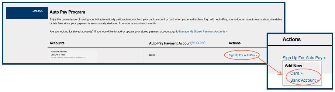 Auto Payment