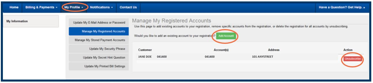 Manage Registered Accounts 3-1